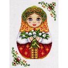 Набор для вышивания Panna НМ-1839 «Русская матрешка. Весна» 22*29 см