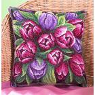 Набор для вышивания Panna ПД-1548 Подушка «Тюльпаны»