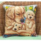 Набор для вышивания Panna ПД-1602 Подушка «Возле мамы» 30*30 см