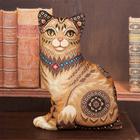 Набор для вышивания Panna ПД-1636 Подушка «Кошка» 34,5*46,5 см