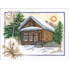 Набор для вышивания Panna ПС-0333 «Зима в деревне» 26*20 см