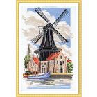 Набор для вышивания Panna ПС-0726 «Мельница на берегу канала» 21*35 см