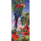Набор для вышивания Panna ПТ-0501 «Тропический берег» 15*32 см