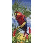 Набор для вышивания Panna ПТ-0502 «Пальмовый рай» 15*32 см