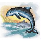 Набор для вышивания Panna Р-0953 «Дельфины» 23*24,5 см