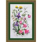 Набор для вышивания Panna Ц-0761 «Садовая фантазия» 16*25 см