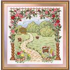 Набор для вышивания Panna Ц-0901 «Любимый сад» 28*29,5 см