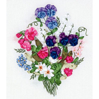 Набор для вышивания Panna Ц-0973 «Цветной горошек» 19*24 см