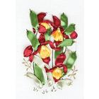 Набор для вышивания Panna Ц-1013 «Венерин башмачок» 13*21 см