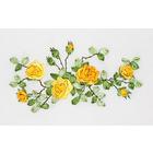 Набор для вышивания Panna Ц-1089 «Желтые розы» 33,5*20 см