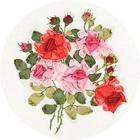 Набор для вышивания Panna Ц-1181 «Красота роз» 18*21 см