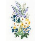 Набор для вышивания Panna Ц-1457 «Лирика сада» 9*16 см
