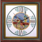Набор для вышивания Panna Ч-1580 Часы «Часы на старой ратуше» 25*25 см