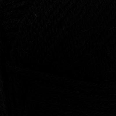 Пряжа Альпака роял (Alpaca Royal), 100 г / 250 м,  060 чёрный в интернет-магазине Швейпрофи.рф