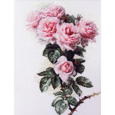 Набор для вышивания Ажур «Розы и шмели» 23*34 см в интернет-магазине Швейпрофи.рф
