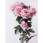 Набор для вышивания Ажур «Розы и шмели» 23*34 см
