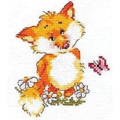 Набор для вышивания Алиса 0-033 «Лисенок» 10*13 см в интернет-магазине Швейпрофи.рф
