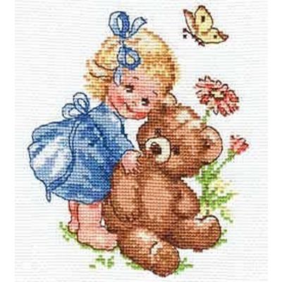 Набор для вышивания Алиса 0-040 «Машенька» 13*15 см в интернет-магазине Швейпрофи.рф