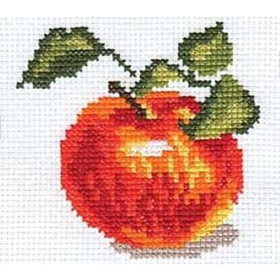 Набор для вышивания Алиса 0-049 «Яблочко» 8*8 см в интернет-магазине Швейпрофи.рф