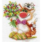 Набор для вышивания Алиса 0-108 «Спешим поздравить» 13*15 см