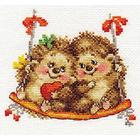 Набор для вышивания Алиса 0-115 «На качелях» 14*13 см