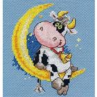 Набор для вышивания Алиса 0-117 «Сладких снов» 10*13 см