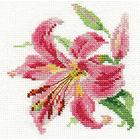 Набор для вышивания Алиса 0-118 «Лилия» 11*12 см