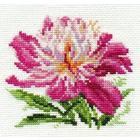 Набор для вышивания Алиса 0-119 «Розовый пион» 10*11 см