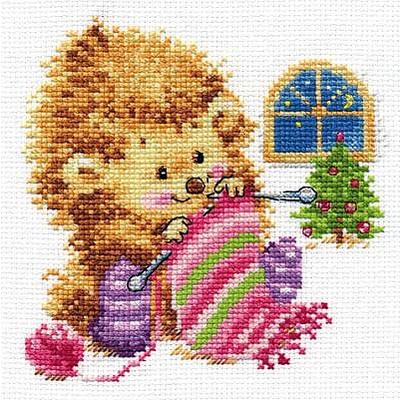 Набор для вышивания Алиса 0-120 «А кому вяжу - не скажу!» 13*13 см в интернет-магазине Швейпрофи.рф
