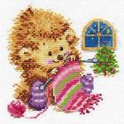 Набор для вышивания Алиса 0-120 «А кому вяжу - не скажу!» 13*13 см