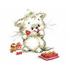 Набор для вышивания Алиса 0-123 «Сладкая конфетка» 13*13 см